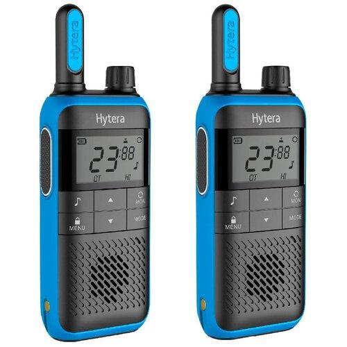 Комплект раций Hytera TF515 2 шт. темно-синий/черный