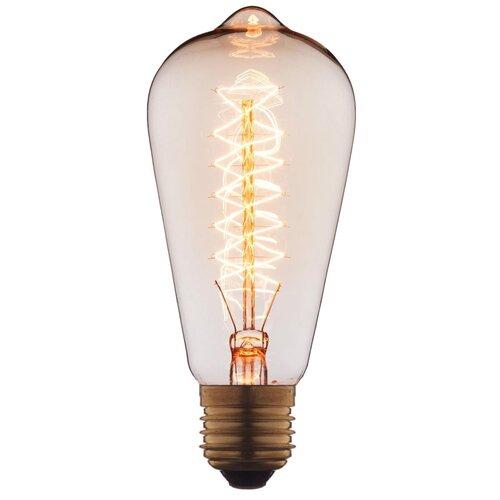Лампочка накаливания Loft it Edison Bulb 6460-CT E27 60W