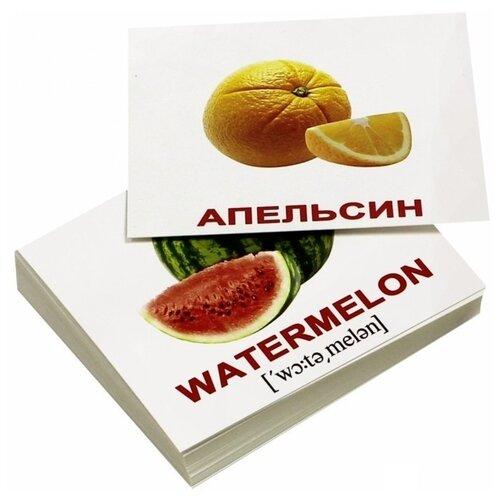 Фото - Набор карточек Вундеркинд с пелёнок Fruits/Фрукты мини 10x8 см 40 шт. набор карточек вундеркинд с пелёнок мини 40 праздники 10x8 см 40 шт