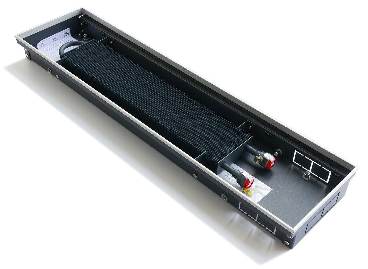 Внутрипольный водяной конвектор Techno Usual KVZ 200/65/1800 с естественной конвекцией — купить по выгодной цене на Яндекс.Маркете