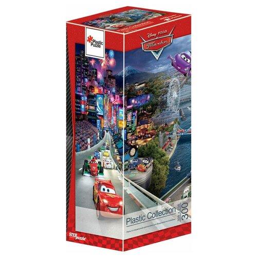 Пазл Step puzzle Plastic Collection Disney Тачки (98033), 300 дет. пазл step puzzle plastic collection дракон и фея 98019 500 дет