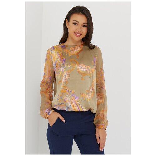 Блуза Katharina Kross, размер 50, золотой