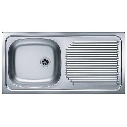 Врезная кухонная мойка 86 см ALVEUS Basic 60 нержавеющая сталь/satin кухонная мойка alveus basic 130 1008825 нержавеющая сталь