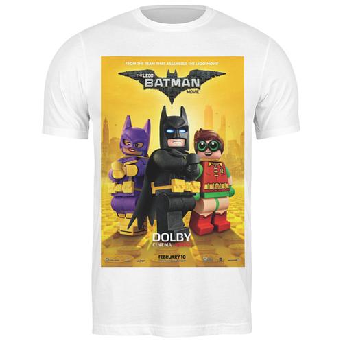 футболка классическая лего фильм бэтмен the lego batman movie 1933125 цвет белый пол муж качество эконом размер l Футболка классическая Лего Фильм: Бэтмен / The LEGO Batman Movie #1932808 (цвет: БЕЛЫЙ, пол: МУЖ, качество: ЭКОНОМ, размер: L)