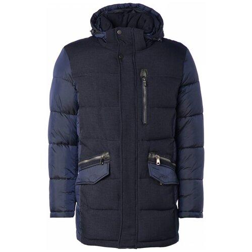 Зимняя куртка мужская FANFARONI 16040 (Темн. синий 17/46)