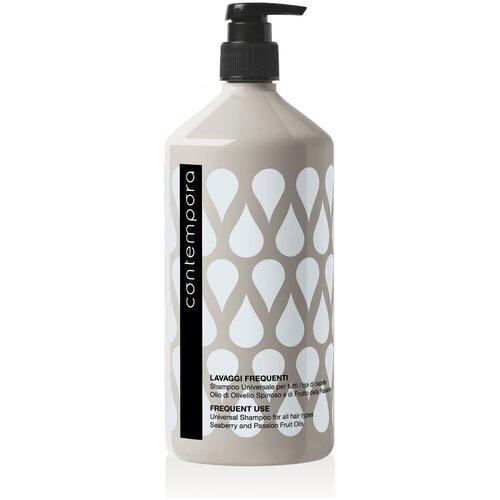 Купить Barex шампунь Contempora Frequent Use Universal For All Hair Types универсальный для всех типов волос с маслом облепихи и маслом маракуйи, 1 л