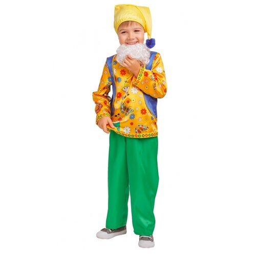Купить Карнавальный костюм Гном Кузьма (4264), 128 см., пуговка, Карнавальные костюмы