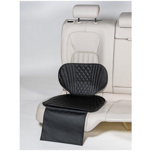 Чехлы (накидки) под бустеры. Защита сидений авто. Цвет: черный. 1 шт. ПРАЙМ