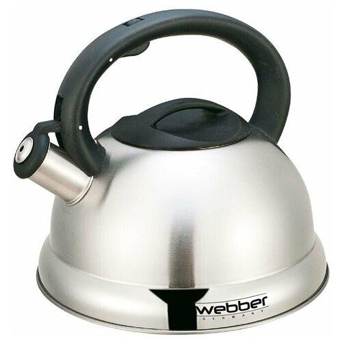 Webber Чайник ВЕ-0547 2.7 л, серебристый