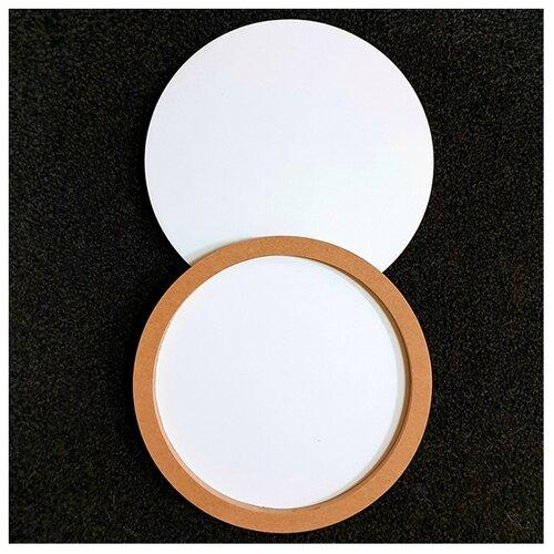 Купить Двусторонняя круглая основа для картины на подрамнике 1, 6 см, d 30 см, ResinArt, RA-70051/04 (30 см), Доски и мольберты