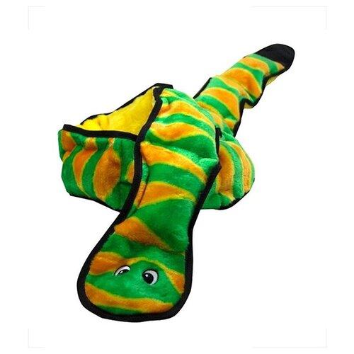 PETSTAGES игрушка для собак OH INVINCIBLES Змея XXL 12 пищалок 1,5 м (1 шт)