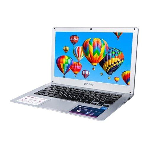 "Ноутбук Irbis NB72 (Intel Atom Z3735F/13.3""/1920x1080/2GB/32GB eMMC/Intel HD Graphics/Windows 10 Home) NB72 серебристый"