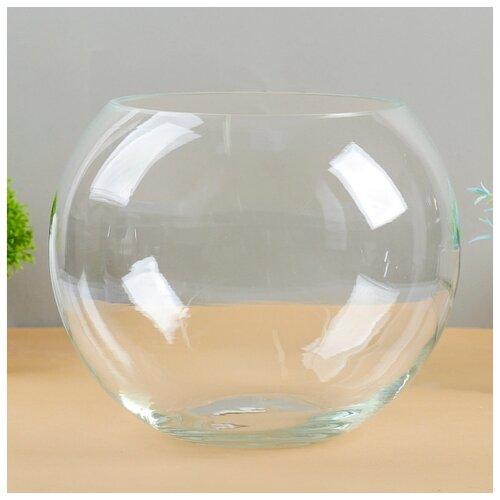Фото - Ваза Шаровая d-15см 20х20 см 6,3 л. 1805 1993324 ваза шаровая d 14см 22х19см 5л 1001570