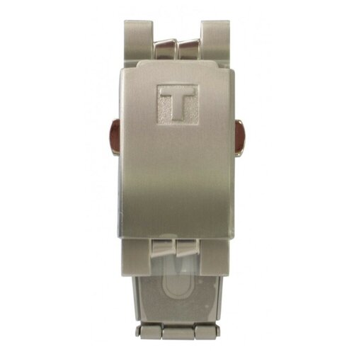 Замок браслета Tissot T631015624, титановый, для часов Tissot PR 50 Titanium J490 0 pr на 100
