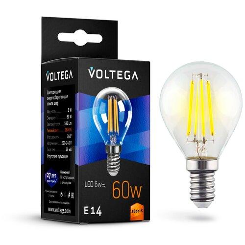 Лампочка Voltega LED E14 6W 7021