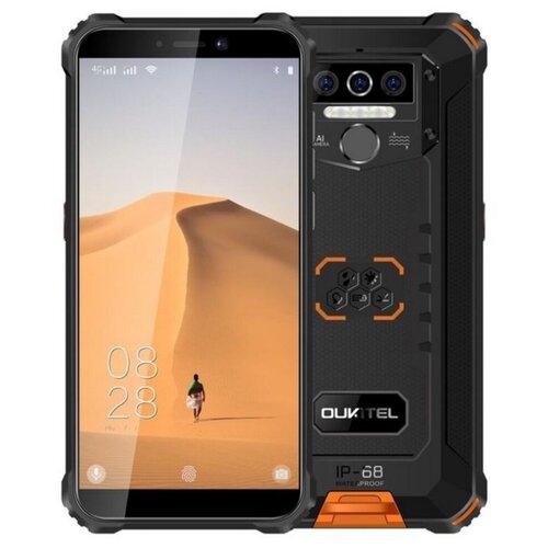 Смартфон OUKITEL WP5 4/32GB черный / оранжевый