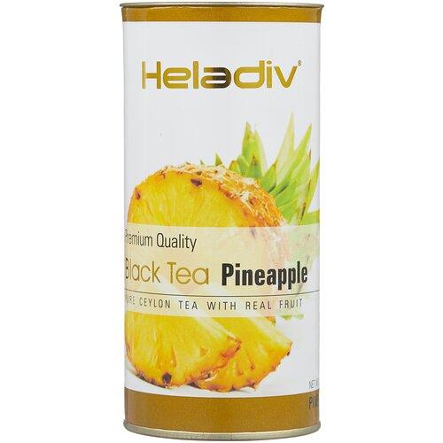 чай черный heladiv premium quality black tea lemon 100 г Чай черный Heladiv Premium Quality Black Tea Pineapple, 100 г, 1 уп.