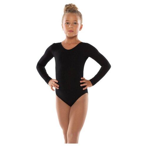 Костюм гимнастический, черный,х/б размер 36 4886278