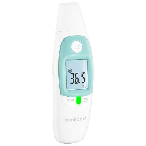 Инфракрасный термометр Miniland Thermosense белый/голубой