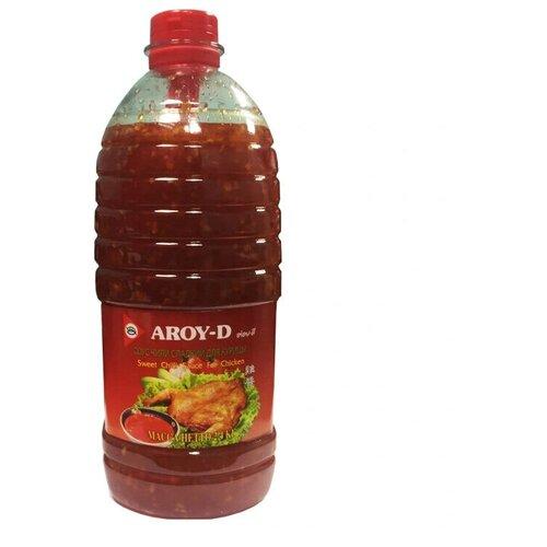 Соус сладкий чили для курицы Aroy-D, 2,4 кг сладкий соус чили для курицы aroy d 920 г