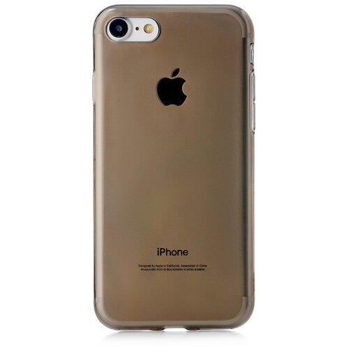 Фото - Чехол-накладка uBear Soft Tone для Apple iPhone 7/iPhone 8 grey чехол накладка ubear soft tone для apple iphone 6 iphone 6s прозрачный
