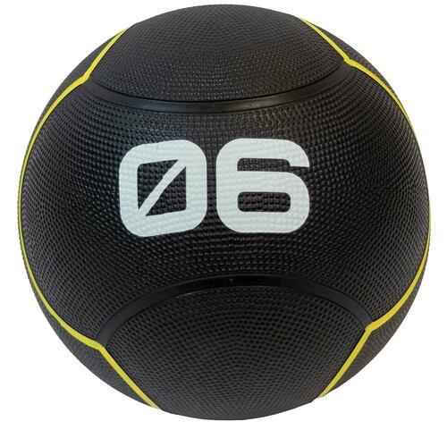 Медбол Original FitTools FT-UBMB-6, 6 кг черный перчатки original fittools ft glv01 черный белый m