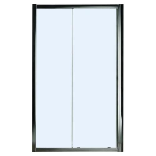 Раздвижные двери WELTWASSER 200S2-120 прозрачный хром матовый