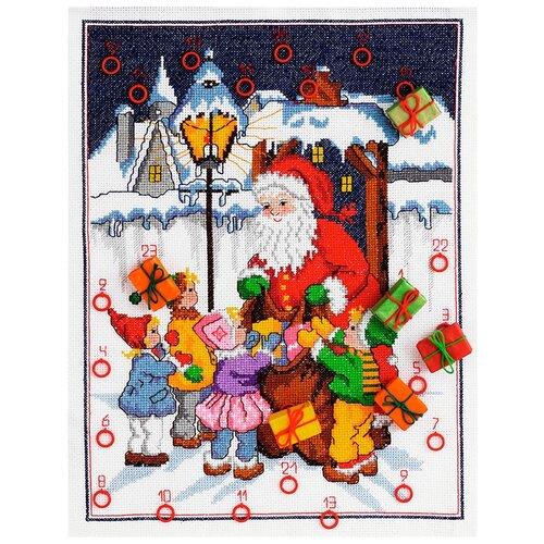 Купить Набор для вышивания Anchor Santa & Children Calendars 45*35см, MEZ Венгрия, 9240000-03504, Наборы для вышивания
