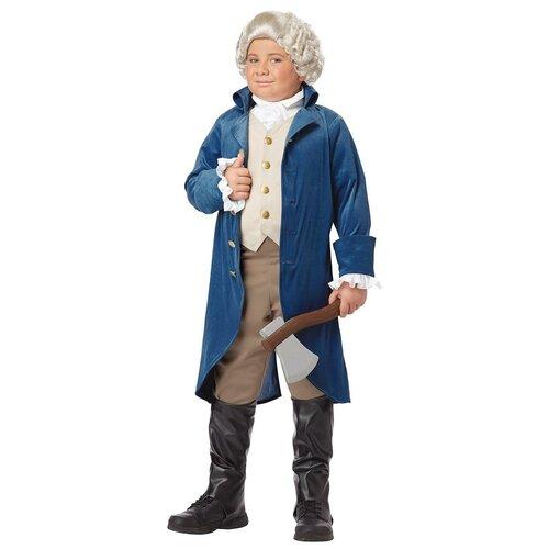 Фото - Костюм California Costumes Джордж Вашингтон 00429, синий, размер L (10-12 лет) костюм авангард 001160 l синий