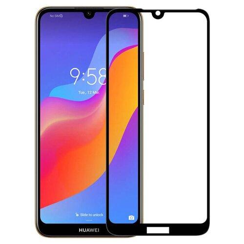 Фото - Полноэкранное защитное стекло для Huawei Honor 8A / Y6 Pro 19 / Y6 19 / Honor 8A Pro / Y6s / Honor 8A Prime Full G (Черный) чехол для honor 8a 8a pro g case slim premium book черный
