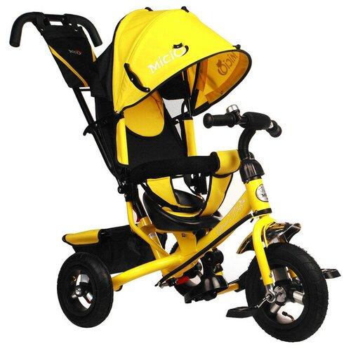 Купить Трехколесный велосипед Micio Classic Air 2019, желтый, Трехколесные велосипеды