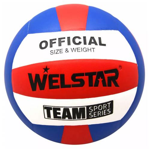 Волейбольный мяч WELSTAR VLPU4411B синий/красный/белый