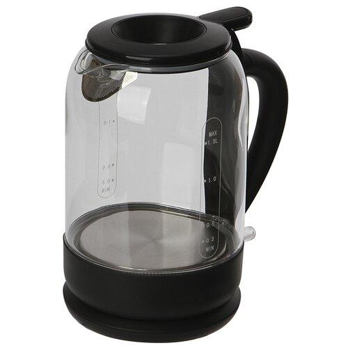 Чайник Polaris PWK 1759CGL 1.5L Black