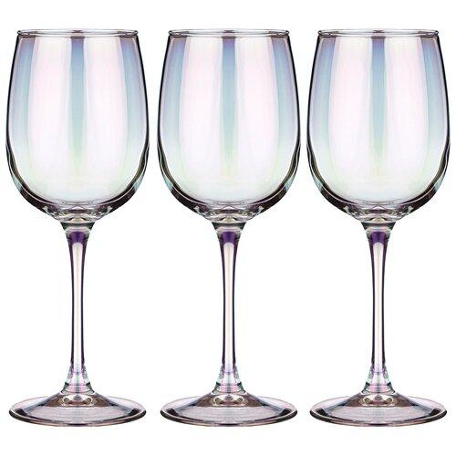 Набор бокалов из 3 шт лиловая дымка 420 мл Lefard (194-522)