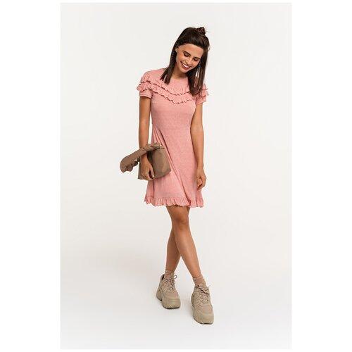 Платье Befree, размер M/46, розовый (135) платье befree befree be031ewbxib1