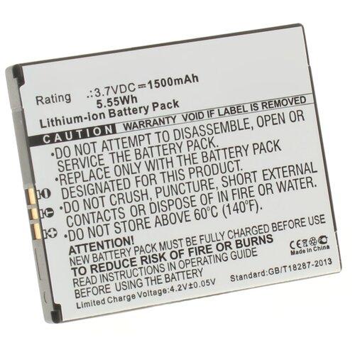 Аккумулятор iBatt iB-U1-M682 1500mAh для KYOCERA Hydro Elite, для Kyocera Hydro Elite, для KYOCERA C6750, для Kyocera C6750,