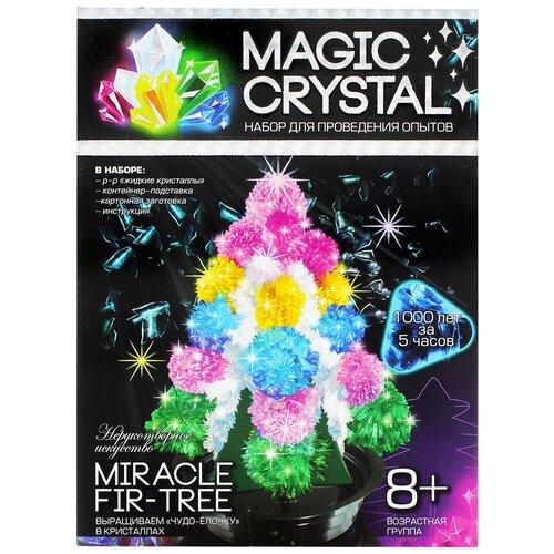 Купить Набор для исследований Danko Toys Magic Crystal Нерукотворное искусство № 1 Miracle Fir-tree, Наборы для исследований
