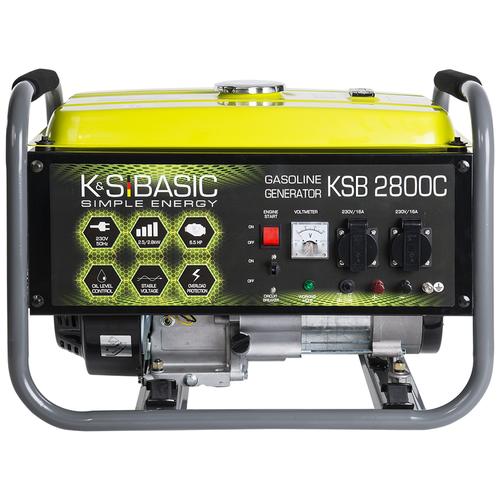 Бензиновый генератор K&S Basic KSB 2800C (2500 Вт)