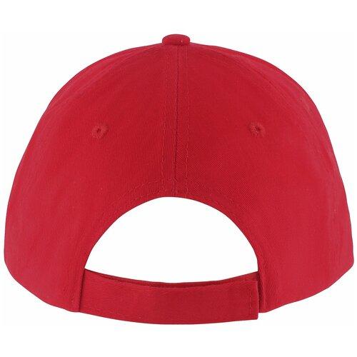 Бейсболка Solar, красная