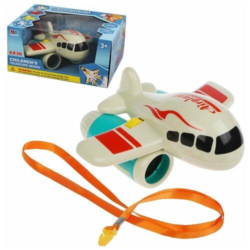 Фото - Бинокль Наша Игрушка Самолет (200025217) радиоуправляемые игрушки наша игрушка самолет радиоуправляемый 163 6688 67