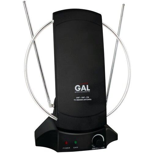 Фото - Комнатная DVB-T2 антенна GAL AR-468AW телевизионная антенна gal ar 002
