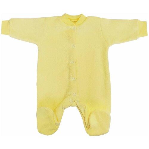 Комбинезон Папитто, размер 62, желтый