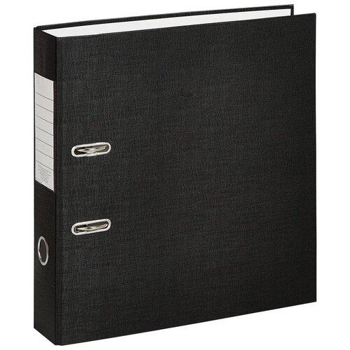 Фото - Attache Папка-регистратор Economy A4, бумвинил, 75 мм, 10 штук черный attache папка регистратор economy под мрамор 50 мм черный синий