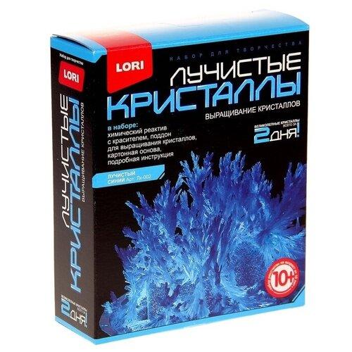 Набор для исследований LORI Лучистые кристаллы синий