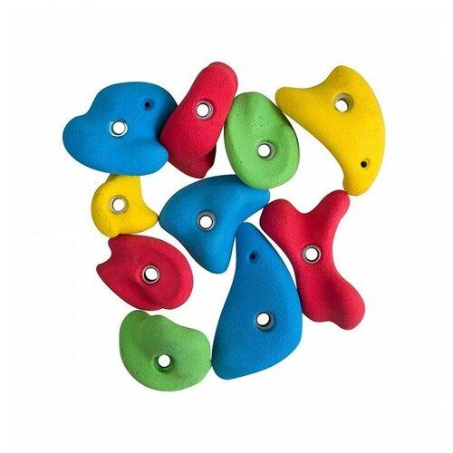 Набор зацепов KETT-UP KU144 10 шт., желтый/красный/зеленый/синий