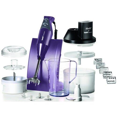 Фото - Погружной блендер Bamix M200 Superbox, фиолетовый погружной блендер bamix baking m200 cream
