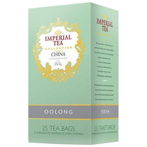 Фото - Чай зеленый, улун Императорский чай Collection China oolong в пакетиках, 25 шт. чай зеленый просто азбука молочный улун в пакетиках 40 г