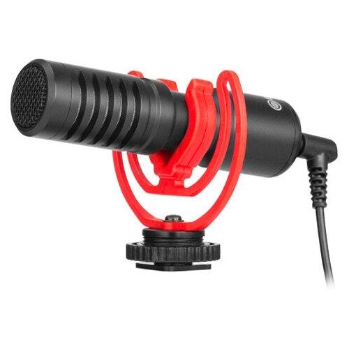 Микрофон Boya BY-MM1+, направленный, моно, 3.5 мм
