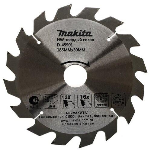 Пильный диск Makita Standart D-45901 185х30 мм диск пильный makita d 45892 standart 165 ммx20 мм 40зуб 173215