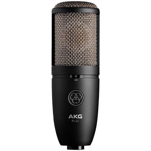 Микрофон AKG P420, черный